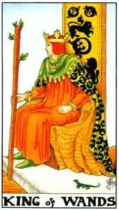 Король жезлов: что значит аркан