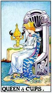 Королева кубков: что значит аркан