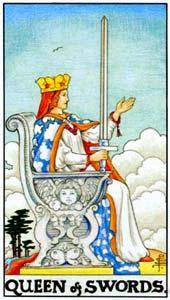 Королева мечей: что значит аркан
