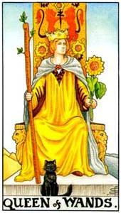 Королева жезлов: что значит аркан