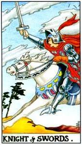 Рыцарь мечей: что значит аркан