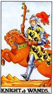 Рыцарь жезлов: что значит аркан