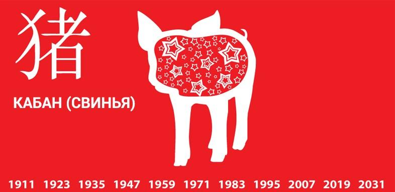 1947 год какого животного по восточному календарю (гороскопу)