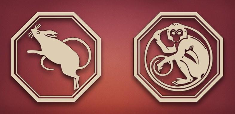 Восточному совместимость обезьяна по крыса гороскопу