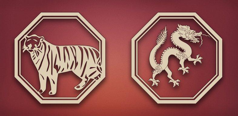 Тигр и Дракон: совместимость знаком в любви